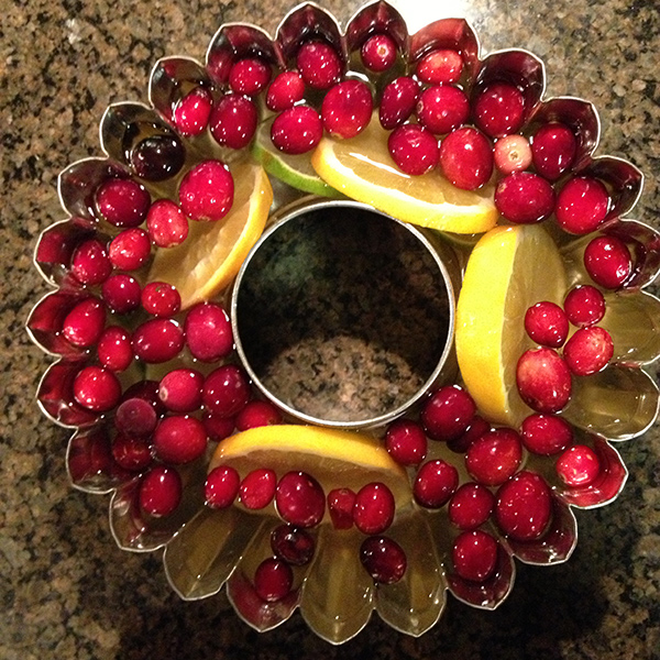 ice ring, jingle juice, festive, food, christmas, recipes, holidays,