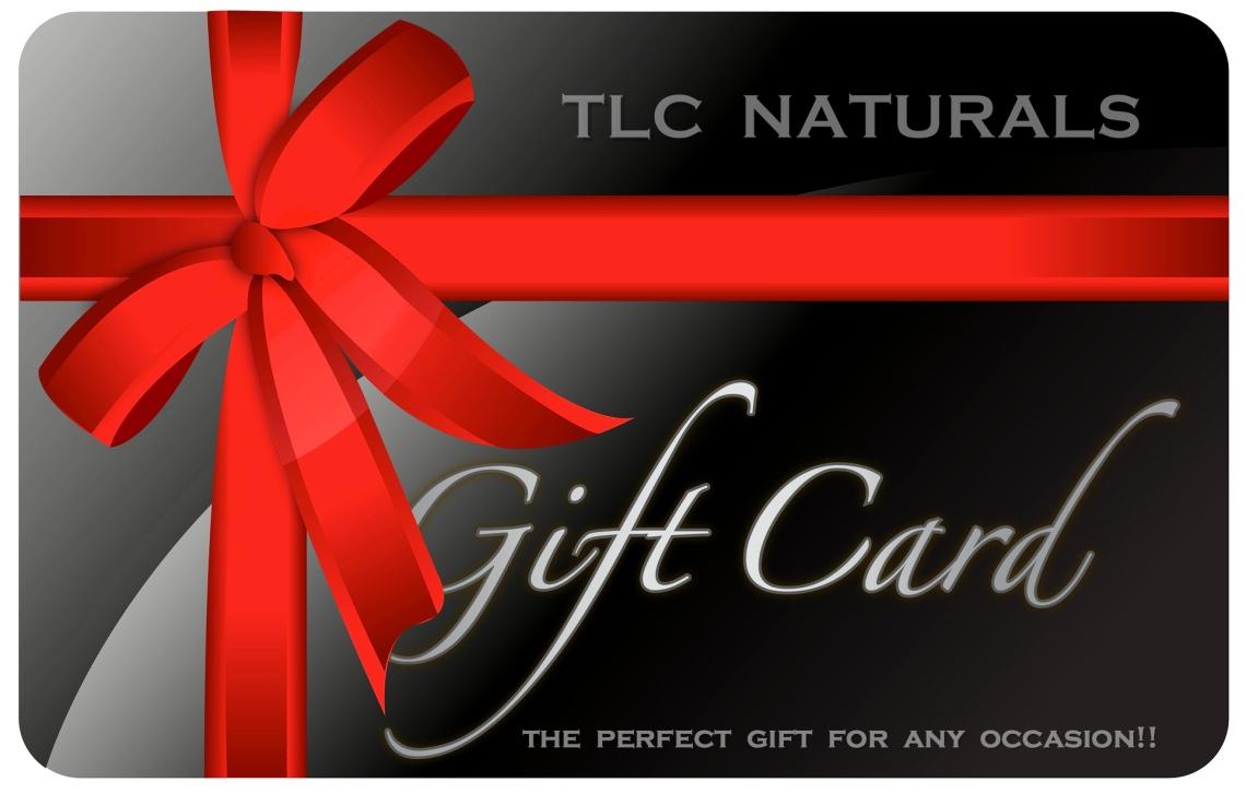 tlc naturals, tlc botanics, gift cards,